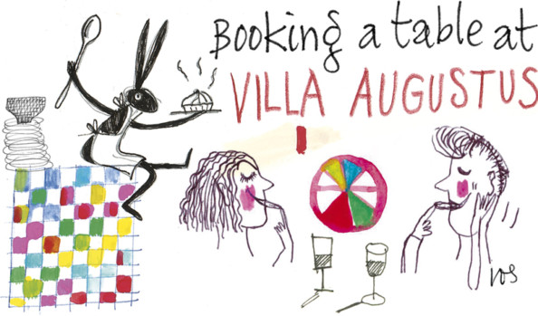 Book a table in the restaurant of Villa Augustus