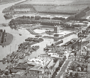 Aerial photograph 1930